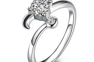 Dámský prsten s kamínkem - Znamení zvěrokruhu a poštovné ZDARMA!...