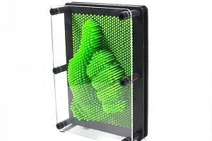 Pin Art 3D otisky - 5 barev a poštovné ZDARMA!...