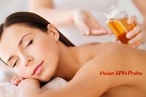 Thajská olejová masáž pro 1 osobu u metra Anděl...