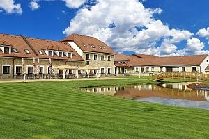 Střední Čechy relaxačně v luxusním hotelu LIONS s neomezeným vstupem do wellness a polopenzí +…...