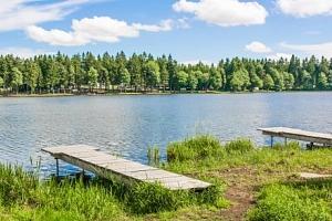 Vysočina: pobyt u rybníka v Penzionu Sykovec s polopenzí a wellness s vířivkou...
