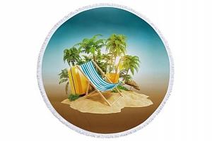 Kulatá plážová deka v 9 provedeních...