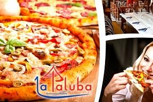 2x pizza dle vašeho výběru v romantické restauraci La Paluba v Kolovratech....