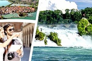 3denní zájezd pro 1 osobu do Švýcarska k nejmohutnějším vodopádům Evropy....