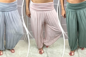 Dámské bavlněné harémové kalhoty + osobní odběr zdarma...