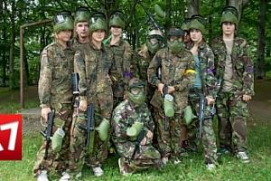 Paintballový tábor v jižních Čechách na 9 či 10 dní pro děti 8-18 let...