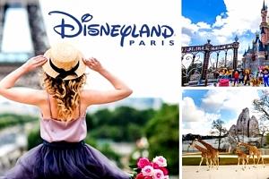 Zájezd do Paříže a Disneylandu - Eiffelova věž, mořský svět i ZOO se snídaní. Zájezd pro jednoho....