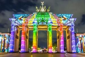 Výlet pro 1 osobu na Festival světel v Berlíně 6. 10. - 7. 10....