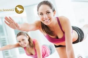 Lekce pilates: skupinové cvičení či individuální lekce s trenérkou...