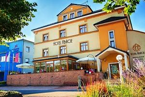 3 denní wellness pobyt pro DVA v hotelu Abácie ve Valašském Meziříčí...