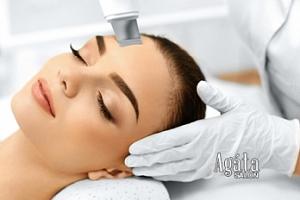 Ultrazvuková špachtle nebo kosmetické ošetření...