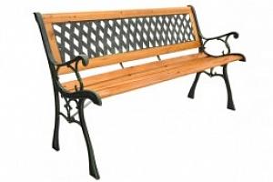 Zahradní lavička, dřevěná, 3390...