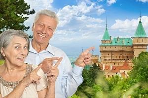 6denní seniorský pobyt pro 1 s polopenzí a wellness v hotelu Regia na Slovensku...