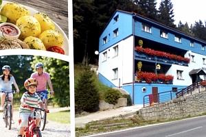 Pobyt pro dvě osoby s polopenzí v penzionu Modřanka v Krkonoších na 3, 4 nebo 7 dní....