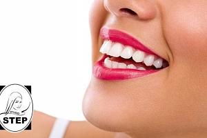 2x 15 minut neperoxidového bělení zubů s remineralizací ve studiu Step v Praze...