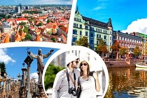 Poznávací zájezd do pobaltských zemí a Helsinek na 6 dní včetně ubytování pro jednoho....