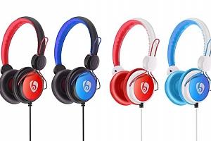 Pohodlná sluchátka V10 ve 3 barvách...