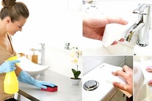 Praktická melaminová Nano čistící houba, super pomocník na úklid....