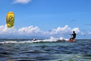 Letní outdoorový kurz kitesurfingu...