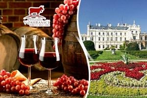Bořetice - 3denní vinařský pobyt pro dva + polopenze...