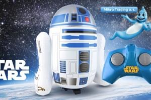 Star Wars R/C Jumbo R2-D2 - nafukovací robot na baterie...