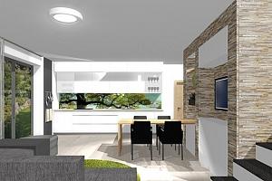 3D návrh interiéru jedné místnosti + konzultace od studia IF Design...