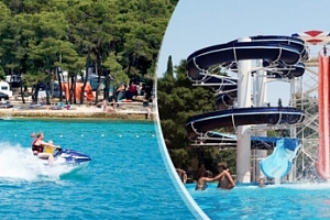 Chorvatsko /Biograd: 8 dní pro 1 osobu v mobilhome vč. dopravy...