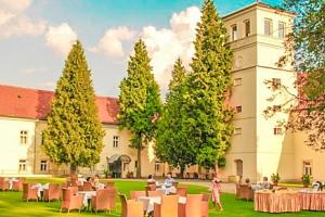 Ladek-Zdrój: romantický Zamek na Skale **** s neomezeným wellness a polopenzí...