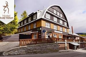 Léto-zima ve Špindlerůvě Mlýně pro dva s polopenzí a saunou...