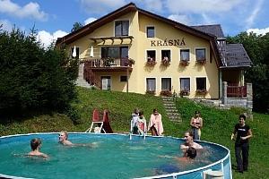 3–6denní pobyt pro 2 i pro rodinu v penzionu Krásná v Jizerských horách...