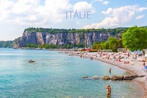 Rodinná dovolená v Itálii na 5-9 nocí v mobilhomu v kempu na útesu...