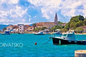 Chorvatsko/Biograd: 7 nocí pro 1 osobu s plnou penzí a možností busu...
