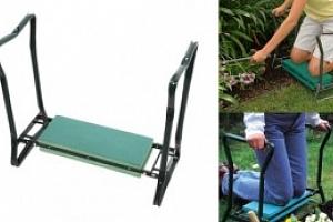 Multifunkční zahradní stolička, zelená...