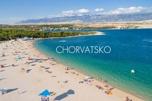 Chorvatsko - Povljana, ostrov Pag: týden s plnou penzí v bungalovu...