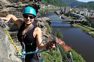 Jednodenní kurz Via Ferrata lezení pro začátečníky...