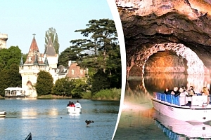 Jednodenní zájezd pro 1 osobu, Rakousko - zámek Franzesburg, sádrový důl Seegrotte....