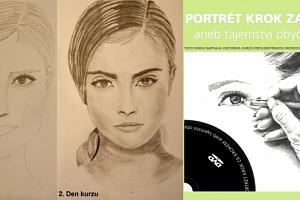 Online kniha + DVD Portrét krok za krokem aneb tajemství obyčejné tužky....