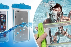 Svíticí vodotěsné pouzdro nejen na mobil ve 4 barvách...