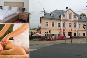 Pobyt v hotelu Villa Dino na 3 až 8 dní pro dva s polopenzí...