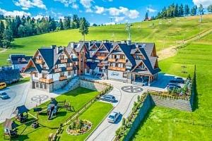 Polské Tatry: Luxusní Hotel Zawrat *** s neomezeným wellness a polopenzí...