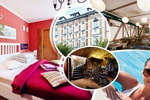 Relaxační pobyt v hotelu Clochard pro dva na 3 dny s polopenzí, vstup do Aquasvěta, zooparku....