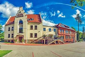 Romantické Polsko v elegantním hotelu jižně od Wroclawi s neomezeným wellness, polopenzí a lahví…...