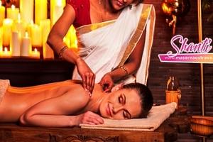 90min. indická celotělová masáž Abhyanga...
