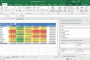 Kurz Excel prakticky (jeden den), Praha - Excel prakticky shrnuje základní postupy vhodné pro…...
