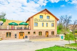 Jižní Morava v Penzionu Sklep se snídaní a neomezenou konzumací vína...
