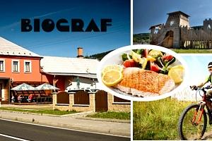 Letní dovolená v Penzionu Biograf v Jeseníkách pro 2 osoby na 3 nebo 4 dny s polopenzí....