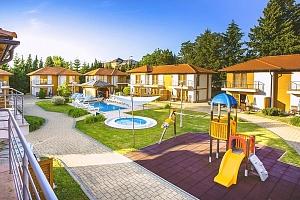 Maďarský Zalakaros: podzim i zima v perfektně vybaveném apartmánu s polopenzí...