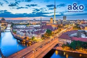 Pobyt v Berlíně na 3-4 dny pro dva vč. snídaní, do 12/2019...