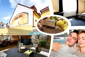 Pobyt pro dva v 3*hotelu Tatra s polopenzí a wellness, káva s domácím štrůdlem, whirlpool a sauna....