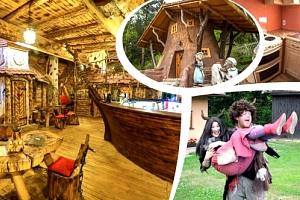 Zážitkový rodinný pobyt v mobilheimu v Peklu Čertovina na 2-4 dny pro 4 osoby s polopenzí....